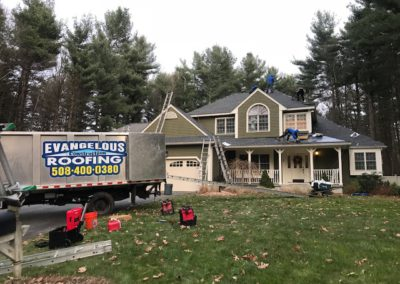 evangelous roofing company new roof