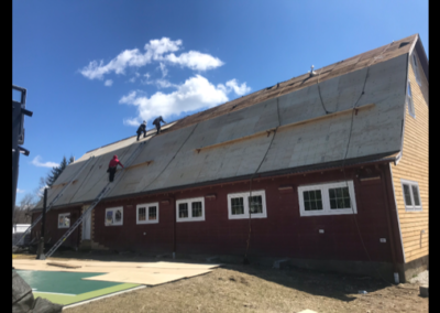 new roof on barn roofing company